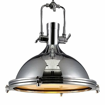 Crumley 1-Light Inverted Pendant