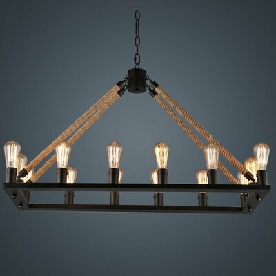 Llanas 16-Light Candle-Style Chandelier