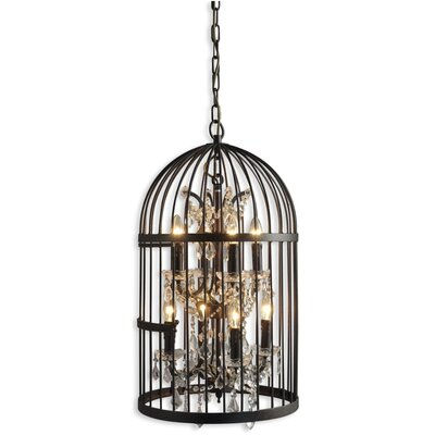 Ketter Birdcage 8-Light Foyer/Lantern Pendant