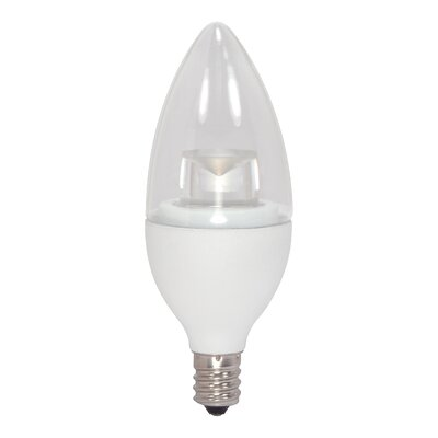 E12/Candelabra LED Light Bulb Wattage: 2.8W, Bulb Temperature: 3000K