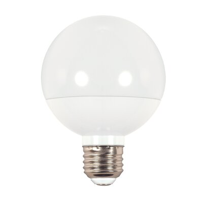 6W E26/Medium LED Light Bulb Bulb Temperature: 2700K, Lumens: 390 Lumens