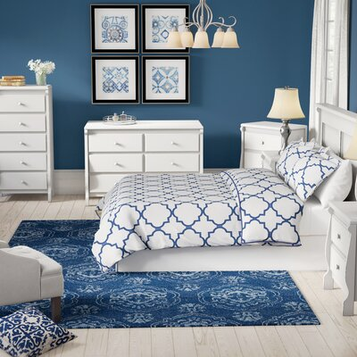 Leishman Platform 6 Piece Bedroom Set Color: Antique White