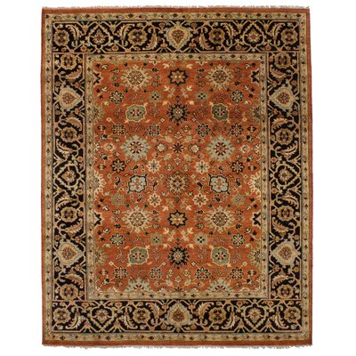 One-of-a-Kind Briggs Hand Knotted Wool Copper Area Rug Rug Size: Rectangle 710 x 100