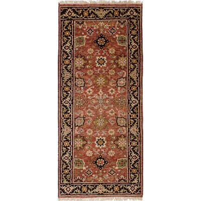 One-of-a-Kind Briggs Hand Knotted Wool Copper Area Rug Rug Size: Rectangle 26 x 510