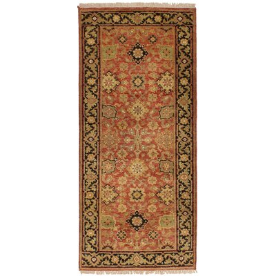 One-of-a-Kind Briggs Hand Knotted Wool Light Red Area Rug