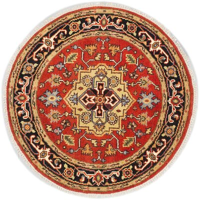 One-of-a-Kind Briggs Hand Knotted Wool Copper Area Rug