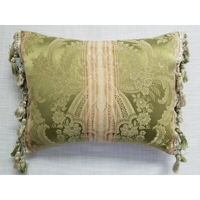 Levering Throw Pillow Color: Green