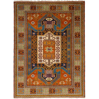 One-of-a-Kind Berkshire Hand Knotted Wool Dark Copper Area Rug