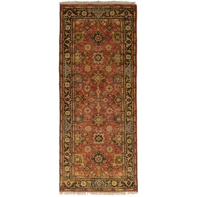 One-of-a-Kind Briggs Hand Knotted Wool Copper Area Rug Rug Size: Runner 25 x 63