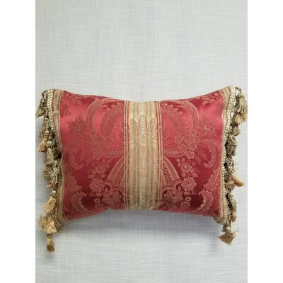 Levering Throw Pillow Color: Red
