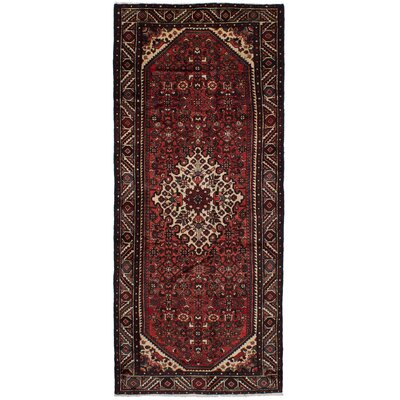 One-of-a-Kind Crews Hand Knotted Wool Dark Copper Area Rug