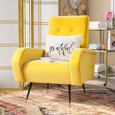 Molly Armchair Upholstery: Yellow