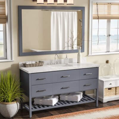 Felman 61 Single Bathroom Vanity with Mirror