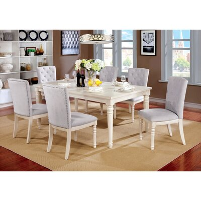 Briony Transitional 7 Piece Dining Set
