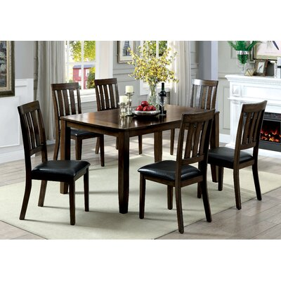 Guevara Transitional 7 Piece Dining Set