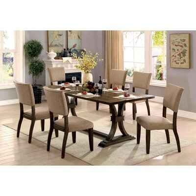 Gutierrez Transitional 7 Piece Dining Set