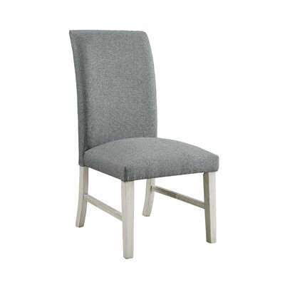 Elfrieda Transitional Upholstered Dining Chair Upholstery Color: Antique White