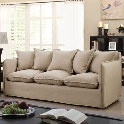 Kamanda Transitional Sofa Upholstery: Beige