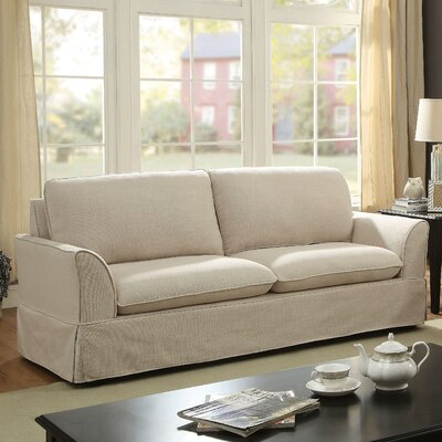 Fanelli Transitional Sofa Upholstery: Beige