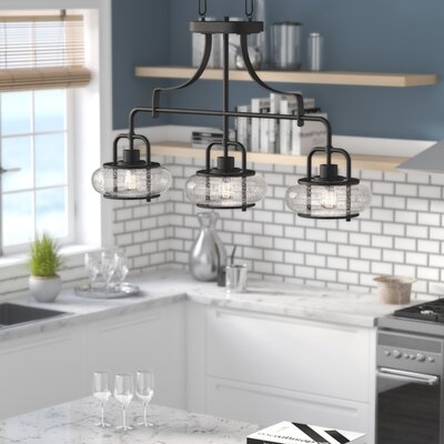 Braxton 3-Light Kitchen Island Pendant
