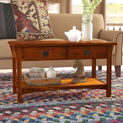 Alameda Coffee Table Color: Russet