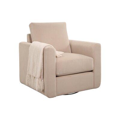 Feng Swivel Armchair Upholstery: Sand