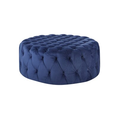 Botolph Cocktail Ottoman Upholstery: Sapphire Blue