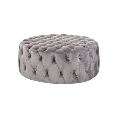 Botolph Cocktail Ottoman Upholstery: Gray