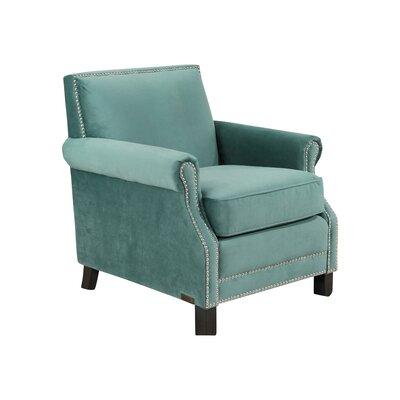 Grunwald Club Chair Upholstery: Teal