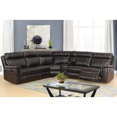 Winter Reclining Sectional with Console