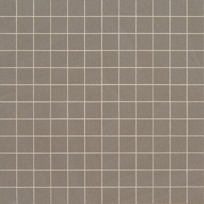 Optima Olive Mesh-Mounted 2 x 2 Porcelain Mosaic Tile in Green