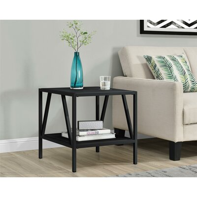 Avondale End Table Color: Black
