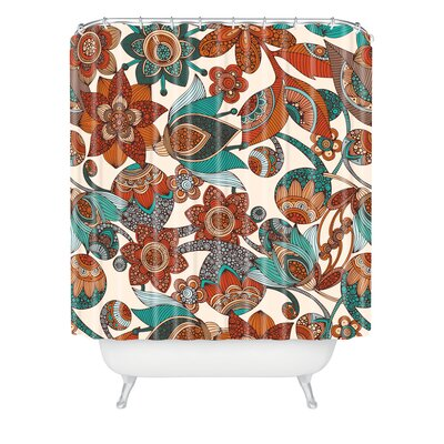 Valentina Ramos Lucy Flowers Shower Curtain