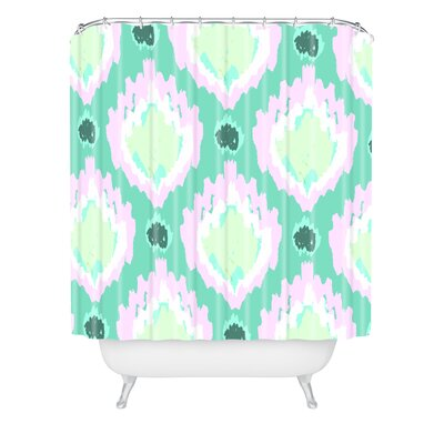 Allyson Johnson Bohemian Ikat Shower Curtain