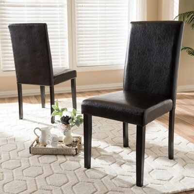 Lacasse Upholstered Dining Chair (Set of 2)