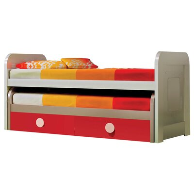 Harrill Kid Trundle Twin Mates & Captains Bed with Drawers