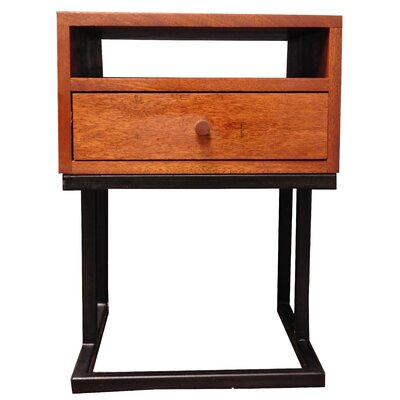 Mouzon 1 Drawer Nightstand