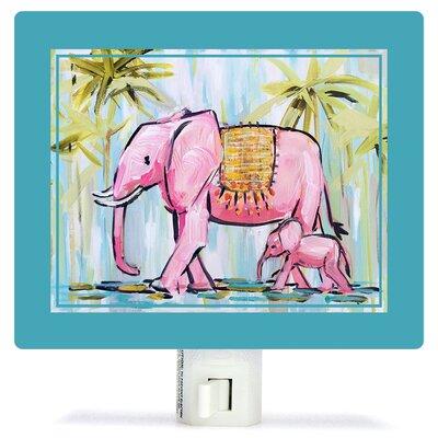 Elephants by Maren Devine Night Light