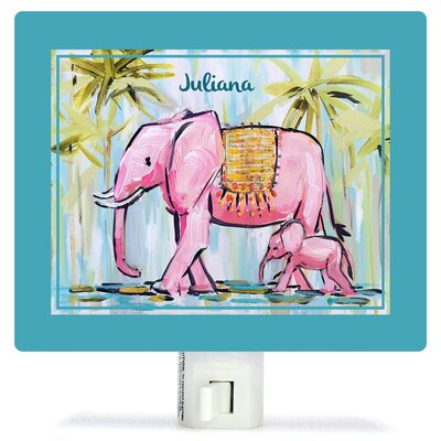 Elephants by Maren Devine Night Light