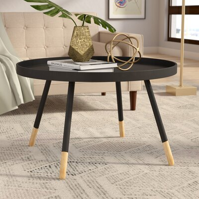 Clyde Coffee Table Color: Black