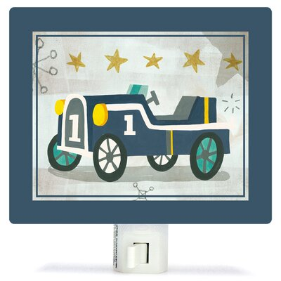 Vintage Racecar by Irene Chan Night Light