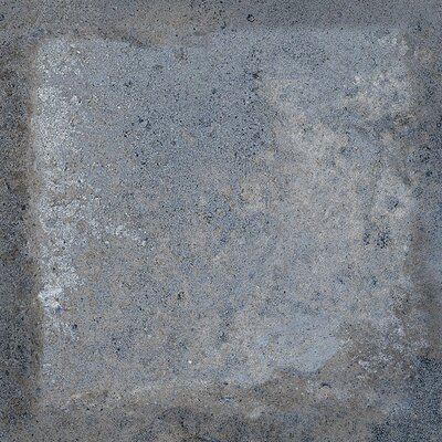 Terranova Cenere Glazed 6 x 6 Porcelain Field Tile in Blue