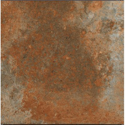 Terranova Cotto Glazed 6 x 6 Porcelain Field Tile in Terra Cotto