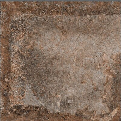Terranova Tortora Glazed 6 x 6 Porcelain Field Tile in Taupe