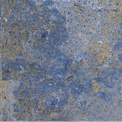 Planets Neptune Glazed 6 x 6 Porcelain Field Tile in Blue