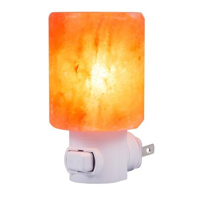 Smooth Cylinder Himalayan Night Light