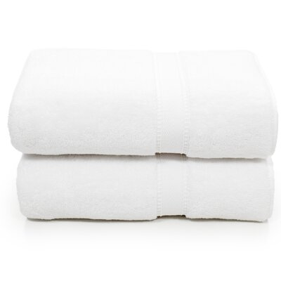 Toscano Bath Towel Color: White