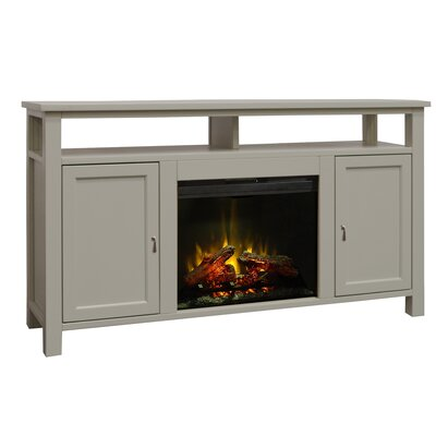 Eline 62 TV Stand Electric Fireplace