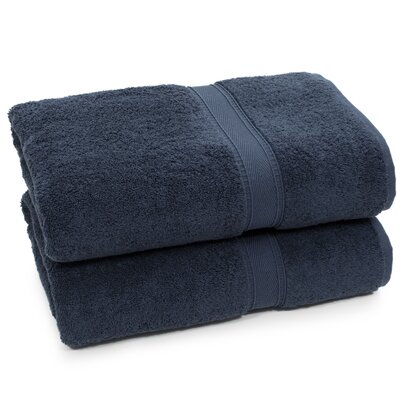 Toscano Bath Towel Color: Navy