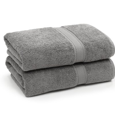 Toscano Bath Towel Color: Dark Gray